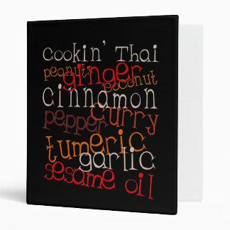 Cookin' Thai binder