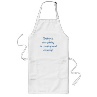 Cooking and Comedy! Long Apron