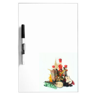 Cooking and Music Dry-Erase Whiteboard