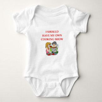 cooking baby bodysuit