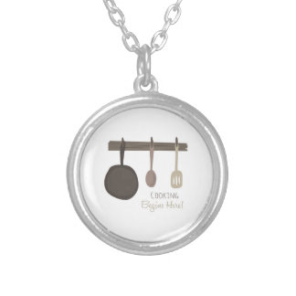 Cooking Begins Here! Personalized Necklace