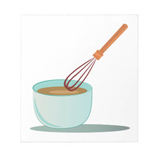 Cooking Bowl Notepad