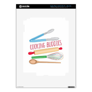 Cooking Buddies Skin For iPad 3