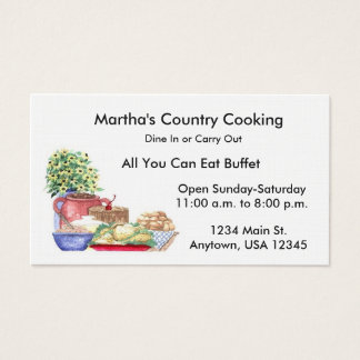 Cooking Business Card