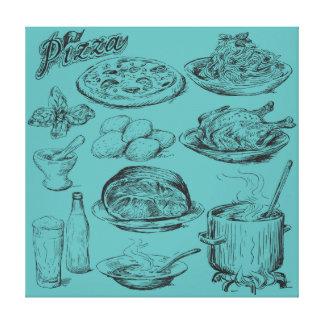 Cooking Canvas Prints