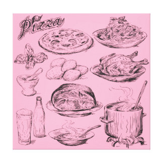 Cooking Canvas Print