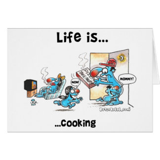 cooking card