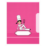 Cooking Chapter Divider Pages for Recipe Binders<br><div class='desc'>These are regular 8.5 x11&#39; letter pages with a twist - they have an illustration of a chef cartoon on a colorful background, and an empty area on the right to write on. You could staple this page to a bunch of recipe pages you printed out, it would make a...</div>