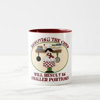 Cooking Chef Two-Tone Coffee Mug
