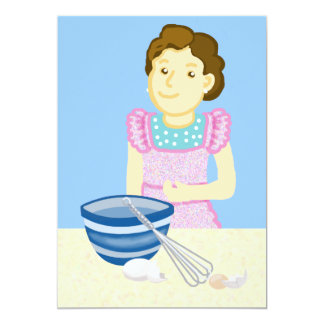 Cooking class card