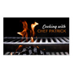 Cooking Classes Chef Catering Restaurant Business Card Templates