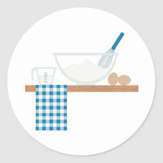 Cooking Classic Round Sticker