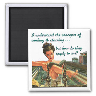 Cooking & Cleaning Concepts Magnet