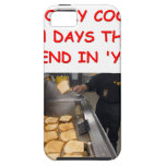 cooking cover for iPhone 5/5S