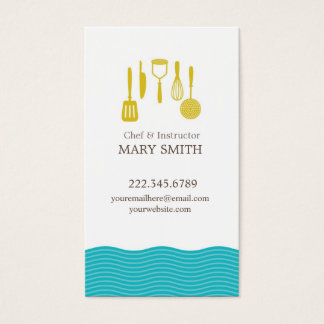 Cooking / Culinary Business Card 1