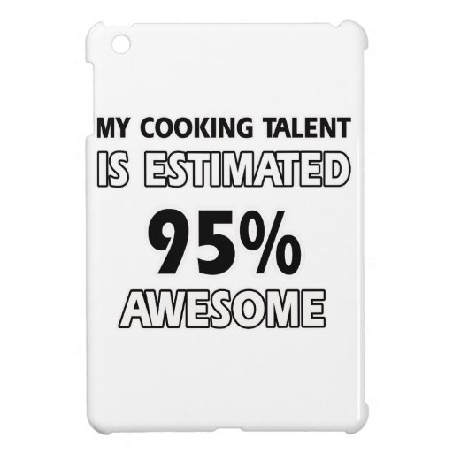 cooking designs iPad mini covers