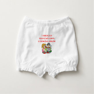 cooking diaper cover