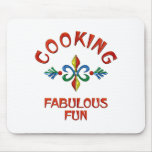 Cooking Fabulous Fun Mouse Pad