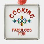 Cooking Fabulous Fun Ornament