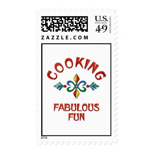 Cooking Fabulous Fun Stamp