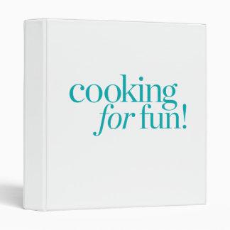 Cooking For Fun Binder