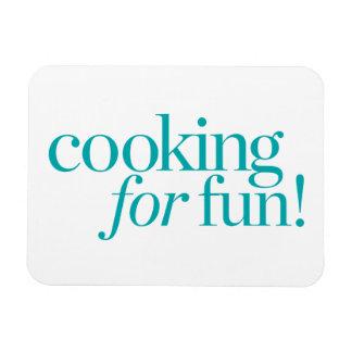 Cooking For Fun Rectangular Photo Magnet