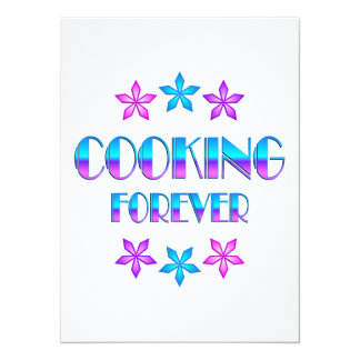 Cooking Forever Custom Announcement