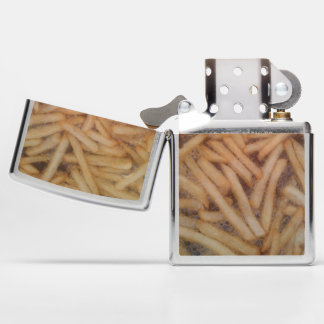 Cooking French Fries Funny Food Photography Zippo Lighter