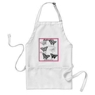 Cooking Gardening CricketDiane Butterflies Adult Apron