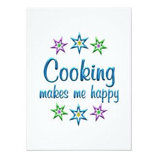Cooking Happy Invite