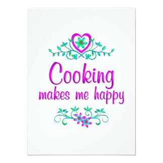 Cooking Happy Announcement