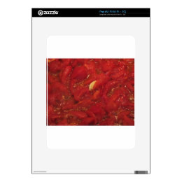 Cooking homemade tomato sauce decals for iPad