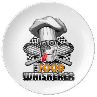 Cooking Humor: Food Whiskerer 5 Dinner Plate