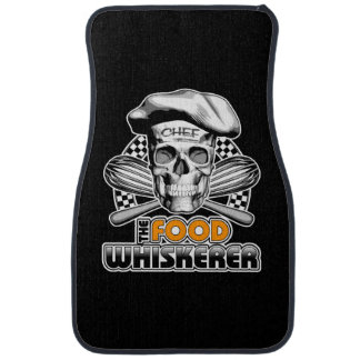 Cooking Humor: Food Whiskerer 6 Car Floor Mat
