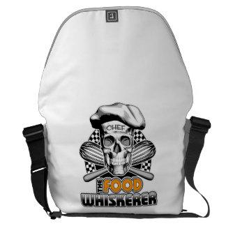 Cooking Humor: Food Whiskerer 6 Courier Bag
