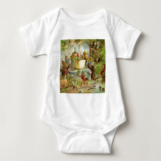 Cooking In The Gnome Kitchen Baby Bodysuit