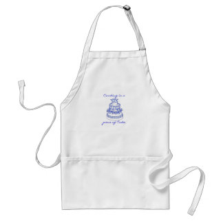Cooking is a piece of Cake Adult Apron