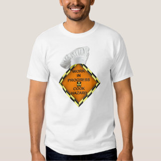 cooking is hazard - Customized T-shirt