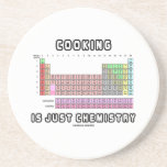 Cooking Is Just Chemistry (Periodic Table) Beverage Coasters
