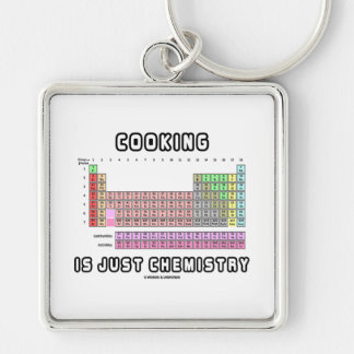 Cooking Is Just Chemistry (Periodic Table) Keychains