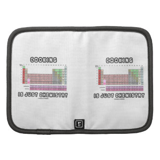 Cooking Is Just Chemistry (Periodic Table) Folio Planner