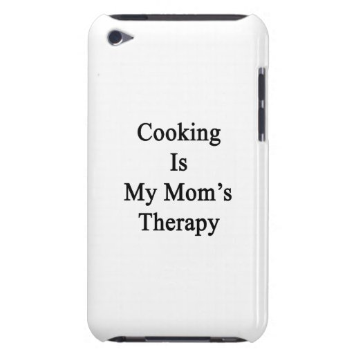 Cooking Is My Mom's Therapy iPod Touch Case