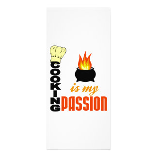 Cooking Is My Passion Rack Card