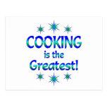 Cooking is the Greatest Postcard