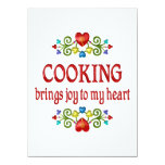 Cooking Joy 5.5x7.5 Paper Invitation Card