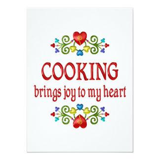 Cooking Joy Invitation