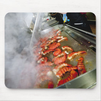 Cooking Lobster Tails Mouse Pad