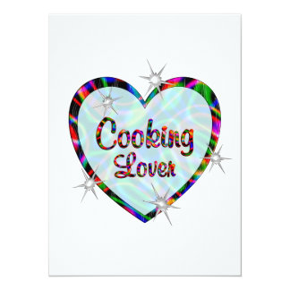 Cooking Lovers Personalized Announcement