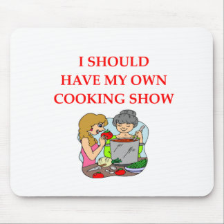 cooking mouse pad