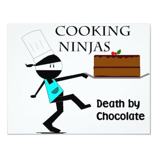 Cooking Ninjas Card
